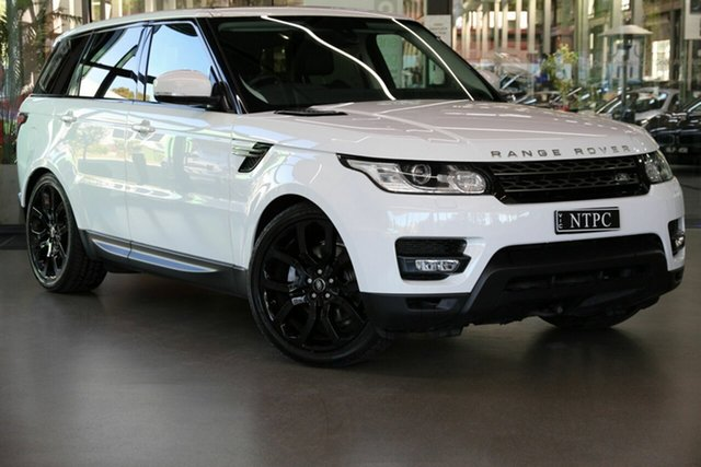 Used Land Rover Range Rover Sport L494 16.5MY SE North Melbourne, 2016 Land Rover Range Rover Sport L494 16.5MY SE White 8 Speed Sports Automatic Wagon