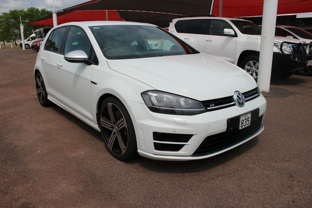 Used Volkswagen Golf VII MY15 R DSG 4MOTION Darwin, 2015 Volkswagen Golf VII MY15 R DSG 4MOTION Quartz White 6 Speed Sports Automatic Dual Clutch
