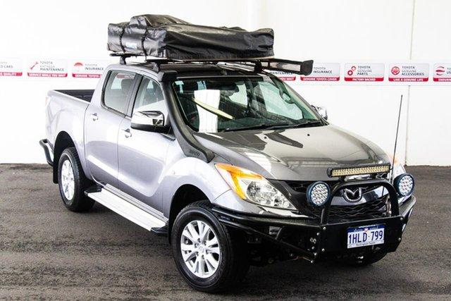 Pre-Owned Mazda BT-50 MY13 XTR (4x4) Rockingham, 2015 Mazda BT-50 MY13 XTR (4x4) Grey 6 Speed Manual Dual Cab Utility