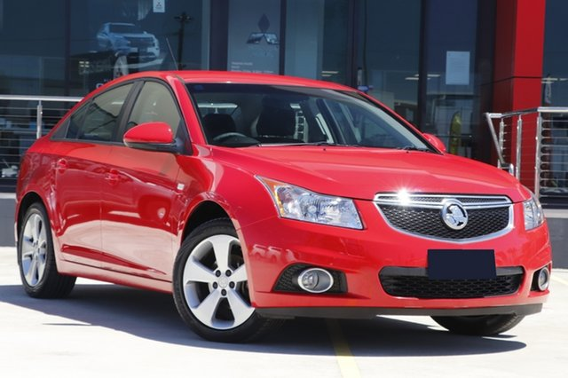 Used Holden Cruze JH Series II MY13 Equipe Aspley, 2013 Holden Cruze JH Series II MY13 Equipe Red 6 Speed Sports Automatic Sedan