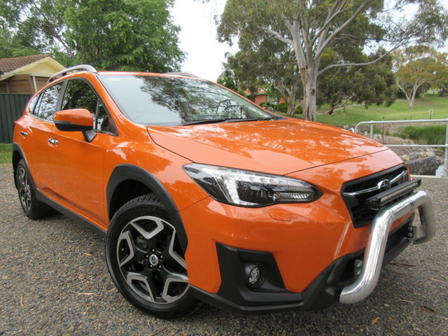 Used Subaru XV G5X MY19 2.0i-S Lineartronic AWD Reynella, 2018 Subaru XV G5X MY19 2.0i-S Lineartronic AWD Orange 7 Speed Constant Variable Wagon