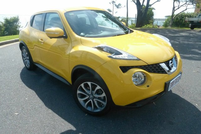 Used Nissan Juke F15 Series 2 Ti-S X-tronic AWD Gladstone, 2015 Nissan Juke F15 Series 2 Ti-S X-tronic AWD Yellow 1 Speed Constant Variable Hatchback