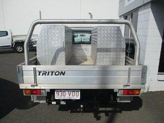 2015 Mitsubishi Triton MN MY15 GL White 5 Speed Manual Cab Chassis.