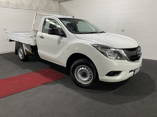 2016 Mazda BT-50 UR0YD1 XT 4x2 White 6 Speed Manual Cab Chassis