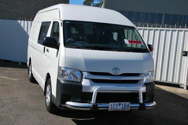 Used Toyota HiAce TRH221R MY14 SLWB Wendouree, 2014 Toyota HiAce TRH221R MY14 SLWB White 4 Speed Automatic Van