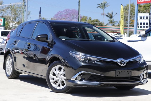 Used Toyota Corolla ZRE182R Ascent Sport S-CVT Aspley, 2018 Toyota Corolla ZRE182R Ascent Sport S-CVT Black 7 Speed Constant Variable Hatchback