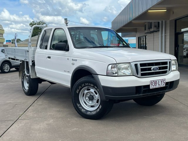 Used Ford Courier PH GL Crew Cab Maryborough, 2005 Ford Courier PH GL Crew Cab White 5 Speed Manual Utility