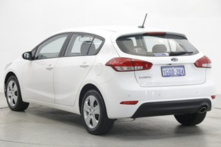 2018 Kia Cerato YD MY18 S Clear White 6 Speed Sports Automatic Hatchback.