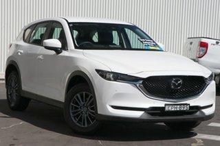 2019 Mazda CX-5 KF4WLA Touring SKYACTIV-Drive i-ACTIV AWD Snowflake White Pearl 6 Speed.