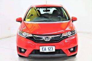 2016 Honda Jazz GF MY16 VTi-L Red 1 Speed Constant Variable Hatchback.