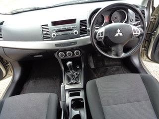 2008 Mitsubishi Lancer CJ MY08 VR Champagne 5 Speed Manual Sedan