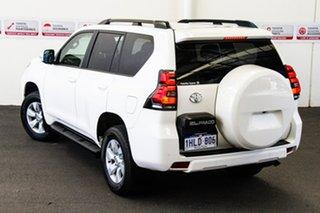 2020 Toyota Landcruiser Prado GDJ150R GXL Glacier White 6 Speed Sports Automatic Wagon.