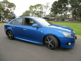 2010 Holden Cruze JG CDX Blue 5 Speed Manual Sedan.