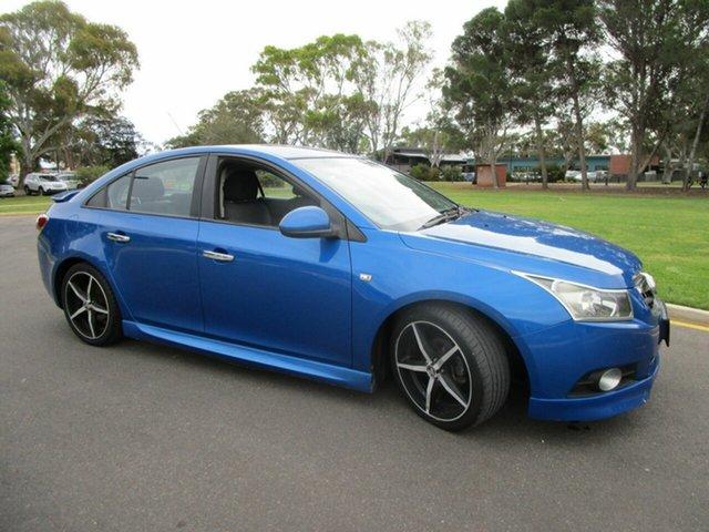Used Holden Cruze JG CDX Glenelg, 2010 Holden Cruze JG CDX Blue 5 Speed Manual Sedan
