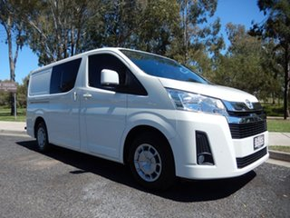 2020 Toyota HiAce GDH300R Crewvan LWB French Vanilla 6 Speed Sports Automatic Van Wagon.