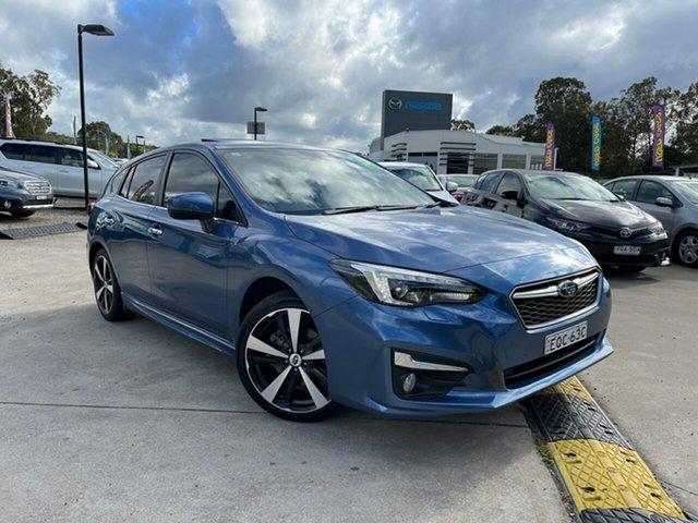 Used Subaru Impreza G5 MY17 2.0i-S CVT AWD Glendale, 2017 Subaru Impreza G5 MY17 2.0i-S CVT AWD Quartz Blue 7 Speed Constant Variable Hatchback