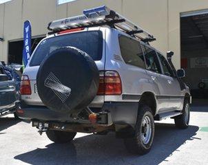 1998 Toyota Landcruiser HZJ105R GXL (4x4) Silver 4 Speed Automatic 4x4 Wagon.