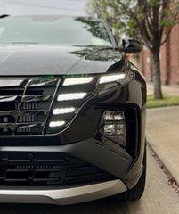 2021 Hyundai Tucson NX4.V1 MY22 Highlander D-CT AWD N Line Phantom Black 7 Speed Automatic Wagon.