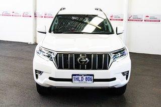 2020 Toyota Landcruiser Prado GDJ150R GXL Glacier White 6 Speed Sports Automatic Wagon
