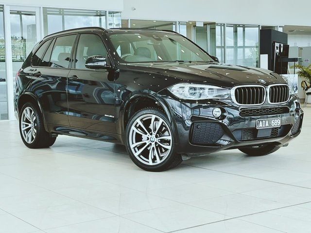 Used BMW X5 F15 xDrive30d Essendon Fields, 2016 BMW X5 F15 xDrive30d Black 8 Speed Sports Automatic Wagon