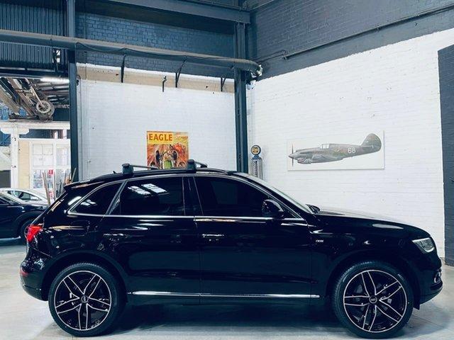 Used Audi Q5 8R MY16 TFSI Tiptronic Quattro Sport Edition Port Melbourne, 2016 Audi Q5 8R MY16 TFSI Tiptronic Quattro Sport Edition Black 8 Speed Sports Automatic Wagon