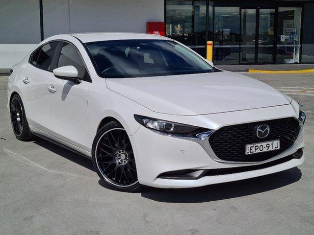 Used Mazda 3 BP2S7A G20 SKYACTIV-Drive Evolve Liverpool, 2019 Mazda 3 BP2S7A G20 SKYACTIV-Drive Evolve White 6 Speed Sports Automatic Sedan