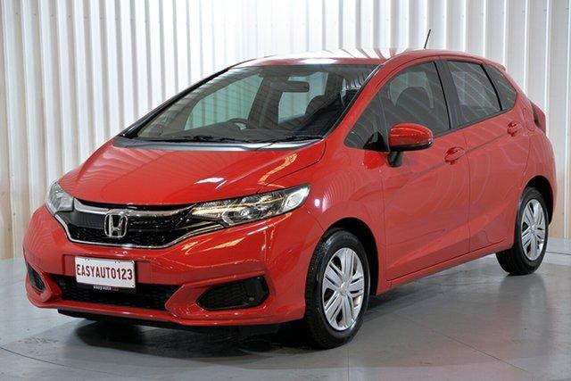 Used Honda Jazz GF MY18 VTi Hendra, 2018 Honda Jazz GF MY18 VTi Red 5 Speed Manual Hatchback