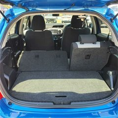 2013 Toyota Yaris NCP131R YRS Blue 4 Speed Automatic Hatchback