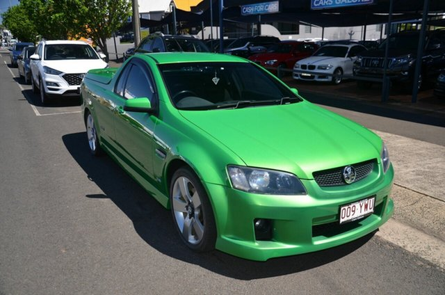 Used Holden Commodore VE SS Toowoomba, 2007 Holden Commodore VE SS Green 6 Speed Manual Utility