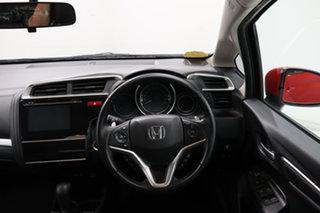 2016 Honda Jazz GF MY16 VTi-L Red 1 Speed Constant Variable Hatchback