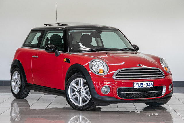 Used Mini Coupe R58 Cooper , 2012 Mini Coupe R58 Cooper Red 6 Speed Manual Coupe