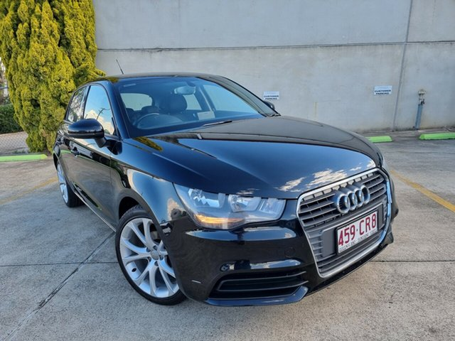 Used Audi A1 8X MY13 Attraction Sportback Toowoomba, 2013 Audi A1 8X MY13 Attraction Sportback Black 5 Speed Manual Hatchback