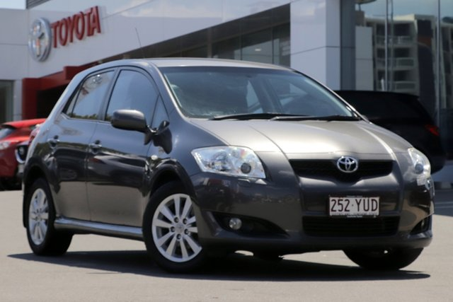 Pre-Owned Toyota Corolla ZRE152R Levin ZR Woolloongabba, 2007 Toyota Corolla ZRE152R Levin ZR Grey 6 Speed Manual Hatchback