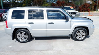2008 Jeep Patriot MK MY2007 Limited Silver 6 Speed Manual Wagon