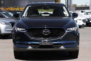 2021 Mazda CX-5 KF4WLA GT SKYACTIV-Drive i-ACTIV AWD SP Blue 6 Speed Sports Automatic Wagon.