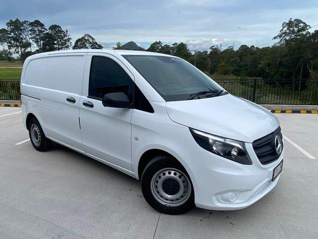 Used Mercedes-Benz Vito 447 MY21 111CDI SWB Cooroy, 2021 Mercedes-Benz Vito 447 MY21 111CDI SWB White 6 Speed Manual Van