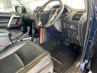 2013 Toyota Landcruiser Prado KDJ150R Kakadu Blue 5 Speed Sports Automatic Wagon