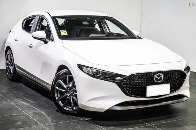 New Mazda 3 BP2H7A G20 SKYACTIV-Drive Evolve Waitara, 2021 Mazda 3 BP2H7A G20 SKYACTIV-Drive Evolve White 6 Speed Sports Automatic Hatchback