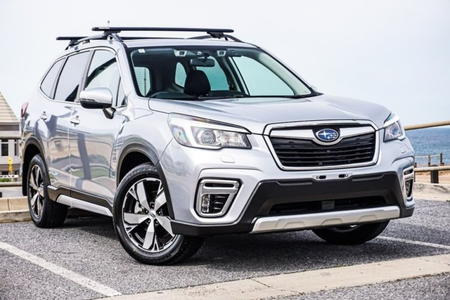 Used Subaru Forester S5 MY19 2.5i-S CVT AWD Christies Beach, 2018 Subaru Forester S5 MY19 2.5i-S CVT AWD Silver 7 Speed Constant Variable Wagon