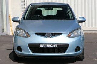 2008 Mazda 2 DE10Y1 Neo Icy Blue 4 Speed Automatic Hatchback