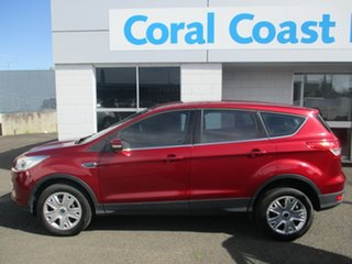 2015 Ford Kuga TF MK 2 Ambiente (FWD) Red 6 Speed Automatic Wagon.