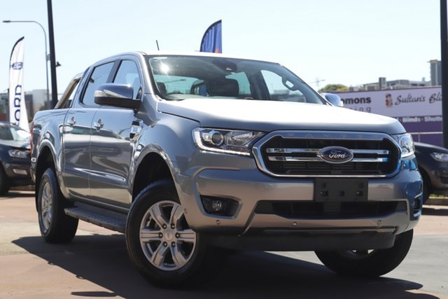 Used Ford Ranger PX MkIII 2020.25MY XLT Toowoomba, 2019 Ford Ranger PX MkIII 2020.25MY XLT Silver 6 Speed Sports Automatic Double Cab Pick Up