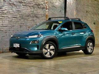 2020 Hyundai Kona OSEV.2 MY20 electric Highlander Blue 1 Speed Reduction Gear Wagon.
