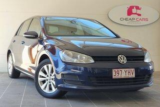 2013 Volkswagen Golf VII MY14 90TSI DSG Comfortline Blue 7 Speed Sports Automatic Dual Clutch.