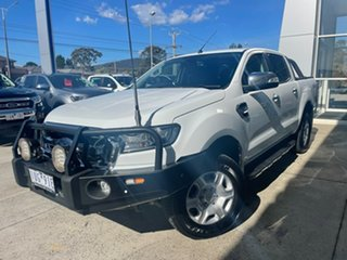 2017 Ford Ranger PX MkII XLT Double Cab White 6 Speed Sports Automatic Utility.