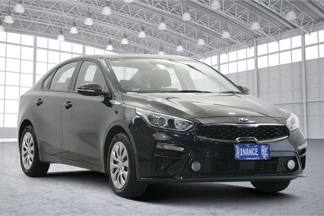 Used Kia Cerato BD MY19 S Victoria Park, 2019 Kia Cerato BD MY19 S Black 6 Speed Sports Automatic Sedan