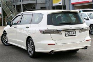 2012 Honda Odyssey 4th Gen MY12 Luxury Premium White 5 Speed Sports Automatic Wagon.