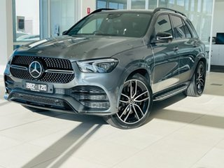 2019 Mercedes-Benz GLE-Class V167 GLE450 9G-Tronic 4MATIC Grey 9 Speed Sports Automatic Wagon.