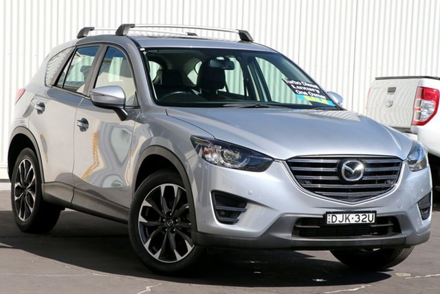 Used Mazda CX-5 KE1022 Grand Touring SKYACTIV-Drive AWD Wollongong, 2016 Mazda CX-5 KE1022 Grand Touring SKYACTIV-Drive AWD Sonic Silver 6 Speed Sports Automatic Wagon