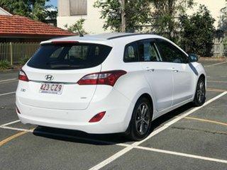 2015 Hyundai i30 GDe4 Series II MY16 Tourer DCT White 7 Speed Sports Automatic Dual Clutch Wagon.